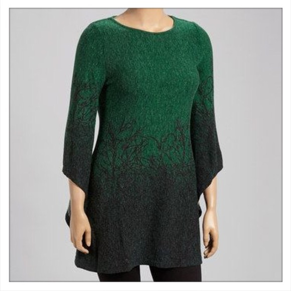 6d46968025a Aryeh Ombré Branch Sweater Dress. NWT